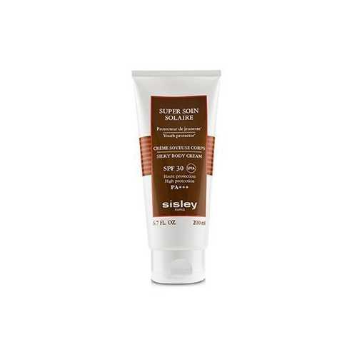 Super Soin Solaire Silky Body Cream SPF 30 UVA High Protection 168105  200ml/6.7oz