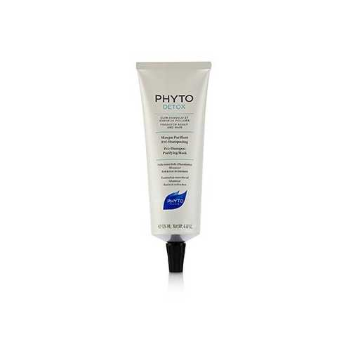 PhytoDetox Pre-Shampoo Purifying Mask (Polluted Scalp and Hair)  125ml/4.4oz