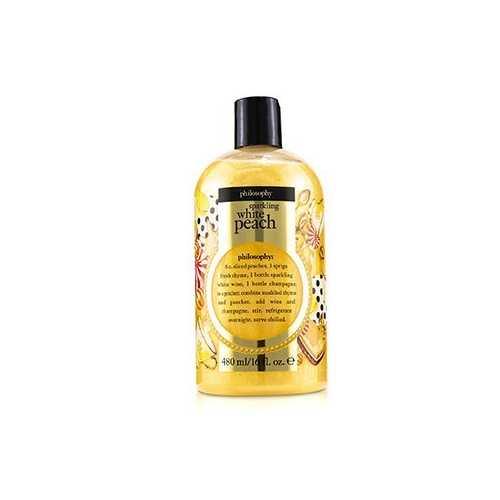 Sparkling White Peach Shampoo, Shower Gel & Bubble Bath  480ml/16oz
