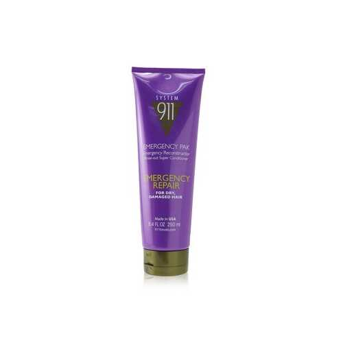 911 Emergency Pak Emergency Reconstructor Rinse-Out Super Conditioner (For Dry, Damaged Hair)  250ml/8.4oz