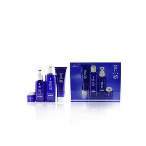 Sekkisei Best Selection Enriched Set: Washing Foam 130g+Enriched Lotion 200ml+Enriched Emulsion 140ml+Eye Cream 20g  4pcs