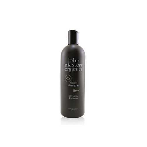 Repair Shampoo For Damaged Hair with Honey & Hibiscus  473ml/16oz