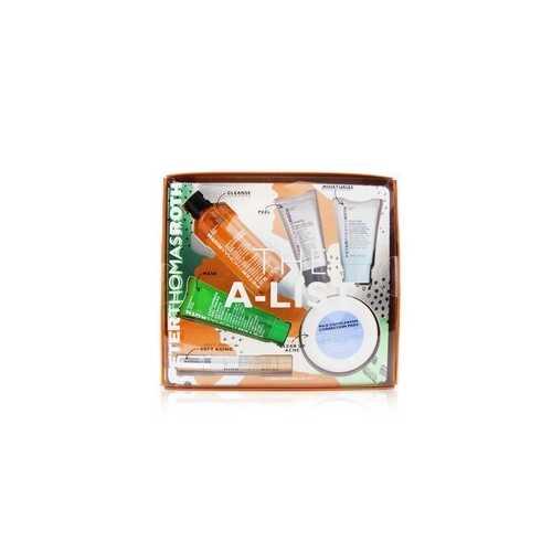 The A-List 6-Piece Bestseller Kit: Cleansing Gel 57ml+Peeling Gel 15ml+Cucumber Gel Mask 30ml+Correction Pads 20pcs+Serum 10ml+Hydrating Moisturizer 20ml  6pcs