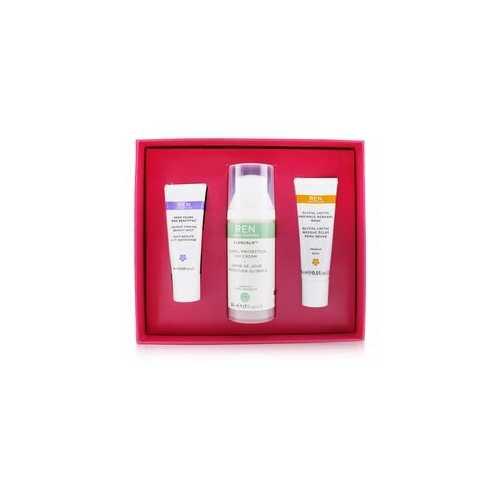 Face Favourites Set: Glycol Latic Mask 15ml + Evercalm Day Cream 50ml + keep Young & Beautiful Beauty Shot 10ml  3pcs