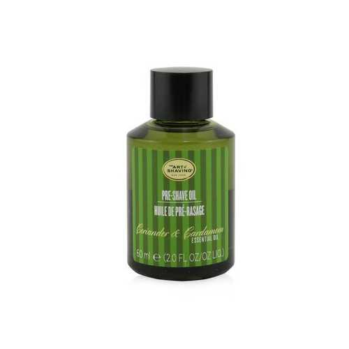 Pre Shave Oil - Coriander & Cardamom Essential Oil  60ml/2oz
