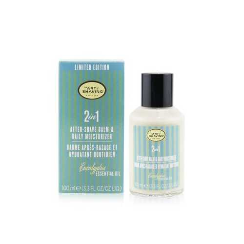 2 In 1 After-Shave Balm & Daily Moisturizer - Eucalyptus Essential Oil  100ml/3.3oz