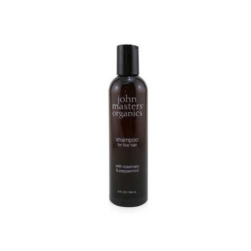 Shampoo For Fine Hair with Rosemary & Peppermint  236ml/8oz