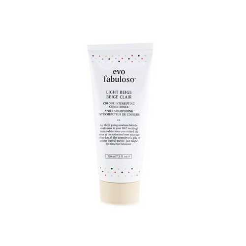 Fabuloso Colour Intensifying Conditioner - # Light Beige  220ml/7.5oz