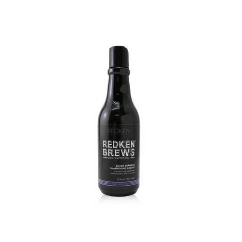 Brews Silver Shampoo (For Gray and White Hair)  300ml/10oz