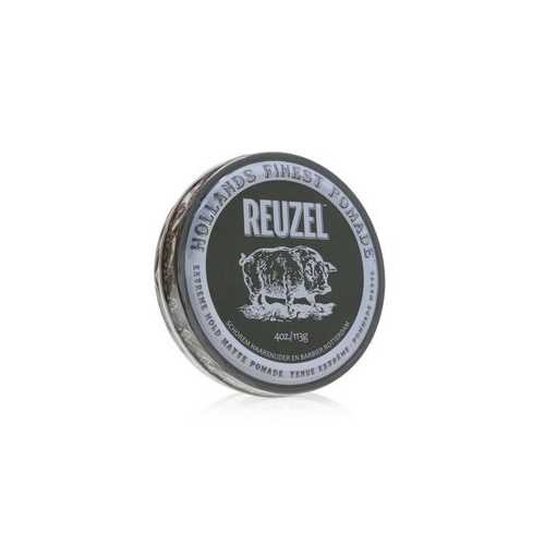 Extreme Hold Matte Pomade (Extreme Hold, No Shine, Water Soluble)  113g/4oz