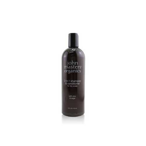 2-in-1 Shampoo & Conditioner For Dry Scalp with Zinc & Sage  473ml/16oz