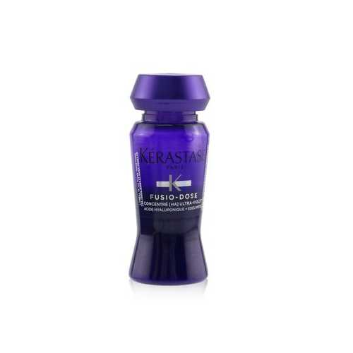 Fusio-Dose Concentre H.A Ultra-Violet (For Lightened, Highlighted Cool Blonde Hair)  10x12ml/0.4oz