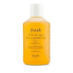 Citron De Vigne Bath & Shower Gel  300ml/10oz