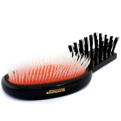 Nylon - Universal Military Nylon Medium Size Hair Brush  1pc