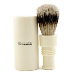 Turnback Traveler Badger Hair Shave Brush - # Ivory 1pc