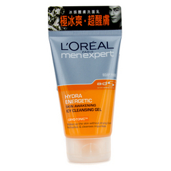 Men Expert Hydra Energetic Skin Awakening Icy Cleansing Gel  100ml / 3.4oz