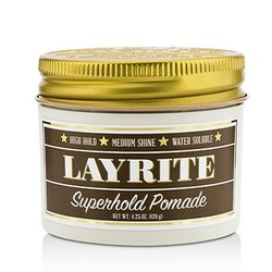 Superhold Pomade (High Hold, Medium Shine, Water Soluble)  120g/4.25oz