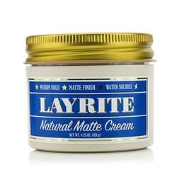 Natural Matte Cream (Medium Hold, Matte Finish, Water Soluble)  120g/4.25oz