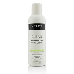 Clean Micelle Skin Care Instant Cleansing Solution - All Skin Types (Even Sensitive) 200ml/6.8oz