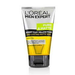 Men Expert Pure & Matte Desert Clay Yellow Foam  100ml/3.3oz