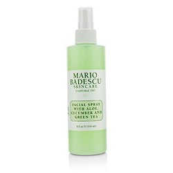 Facial Spray With Aloe, Cucumber And Green Tea - For All Skin Types  236ml/8oz