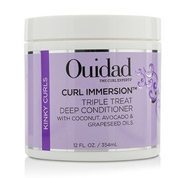 Curl Immersion Triple Treat Deep Conditioner (Kinky Curls)  354ml/12oz