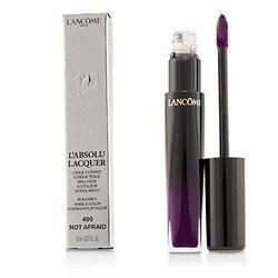 L'Absolu Lacquer Buildable Shine & Color Longwear Lip Color - # 490 Not Afraid  8ml/0.27oz