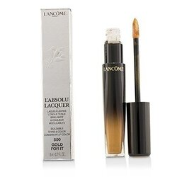 L'Absolu Lacquer Buildable Shine & Color Longwear Lip Color - # 500 Gold For It  8ml/0.27oz