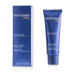 Homme Age Optimal Face & Eyes Wrinkle Smoothing Cream  50ml/1.6oz