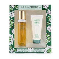 Diamond & Emerald Coffret: Eau De Toilette Spray 100ml/3.3oz + Perfumed Body Lotion 100ml/3.3oz  2pcs