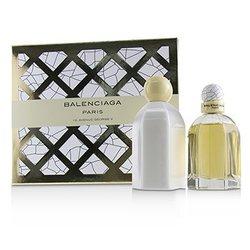 Balenciaga Coffret: Eau De Parfum Spray 75ml/2.5oz + Body Lotion 200ml/6.7oz  2pcs
