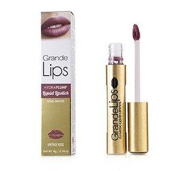 GrandeLIPS Plumping Liquid Lipstick (Semi Matte) - # Vintage Rose  4g/0.14oz