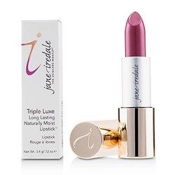 Triple Luxe Long Lasting Naturally Moist Lipstick - # Joanna (Plum With Pink Undertones)  3.4g/0.12oz