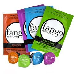 The Fango Essenziali Collection (4x Sheet Mask 25ml/0.83oz, 4x Mud Mask 25g/0.89oz)  -