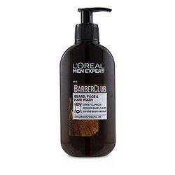 Men Expert Barber Club Beard, Face & Hair Wash  200ml/6.76oz