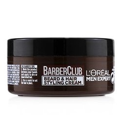 Men Expert Barber Club Beard & Hair Styling Cream  75ml/2.5oz