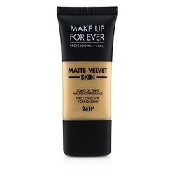 Matte Velvet Skin Full Coverage Foundation - # Y345 (Natural Beige)  30ml/1oz