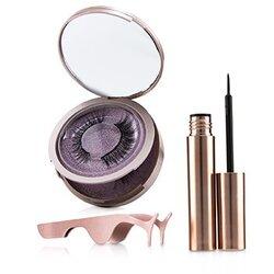 Magnetic Eyeliner & Eyelash Kit - # Romance  3pcs