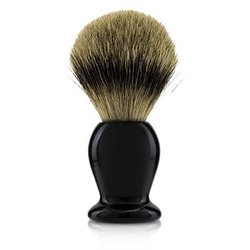 Handcrafted 100% Fine Badger Shaving Brush - # Black  -