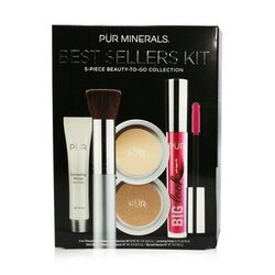 Best Sellers Kit (5 Piece Beauty To Go Collection) (1x Primer, 1x Pressed Powder, 1x Bronzer, 1x Mascara, 1x Brush) - # Light  5pcs