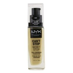Can't Stop Won't Stop Full Coverage Foundation - # Nude  30ml/1oz