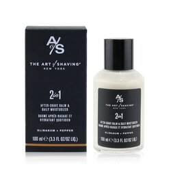 2 In 1 After-Shave Balm & Daily Moisturizer - Olibanum + Pepper  100ml/3.3oz