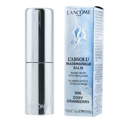 L'Absolu Mademoiselle Tinted Lip Balm - # 006 Cosy Cranberry  3.2g/0.11oz
