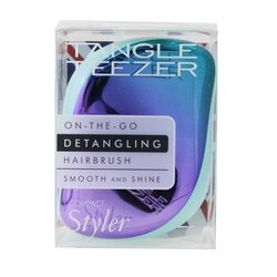 Compact Styler On-The-Go Detangling Hair Brush - # Petrol Blue Ombre  1pc