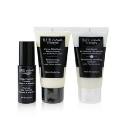 Hair Rituel by Sisley Smooth & Shine Kit  3pcs