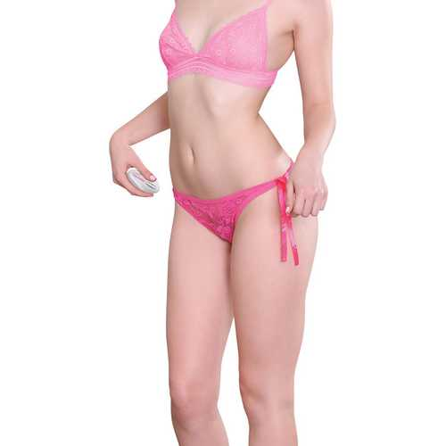 Eve's Rechargeable Vibrating Panty - Pink