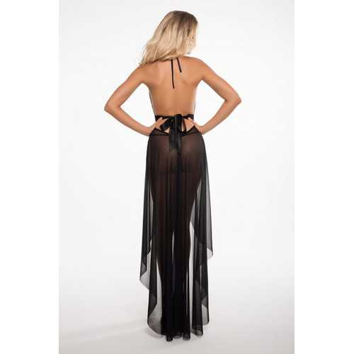 Freya Le Reve Nightdress - Black - L/xl