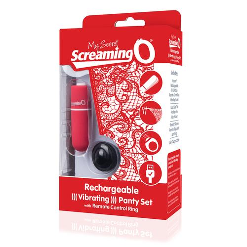 My Secret Charged Remote Control Panty Vibe - Red