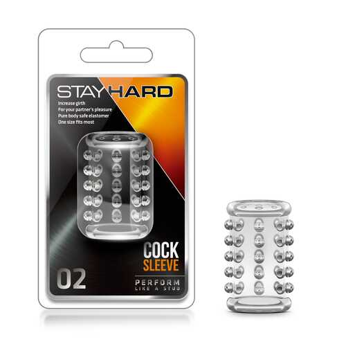 Stay Hard Cock Sleeve 02 - Clear