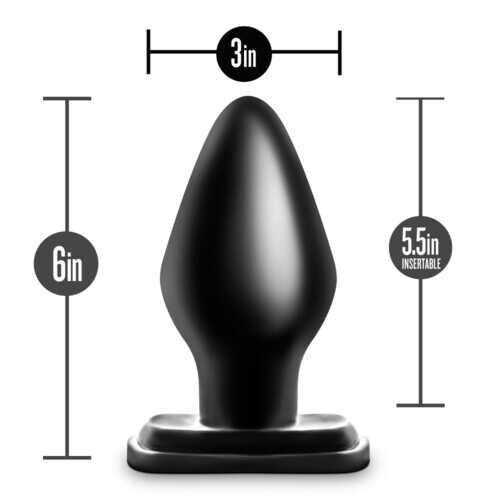 Anal Adventures - XXL Plug - Black